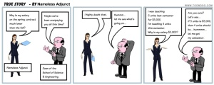 edited - Nameless Adjunct - True Story - The Cartoon