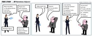 edited - Nameless Adjunct - True Story - The Cartoon